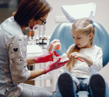visita ortodonzia per bambini